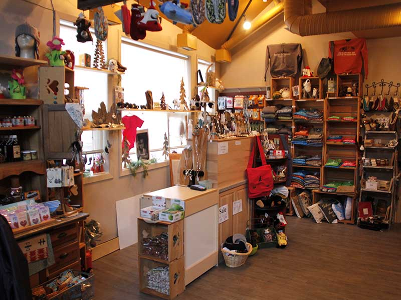 A image of the Waterton Gift Shop