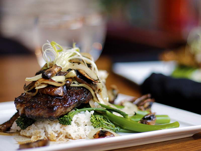 Vimy's Mocha Blackend Steak