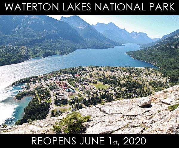 Waterton Reopens June 2020